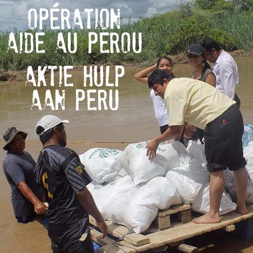 Opération aide au Pérou