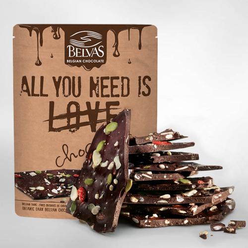 Chocolats à casser