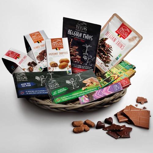 Fairtrade geschenkmand