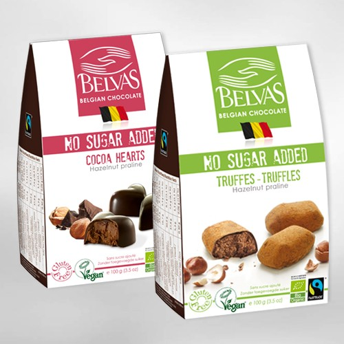 Belvas collection with no added sugar – with inuline
